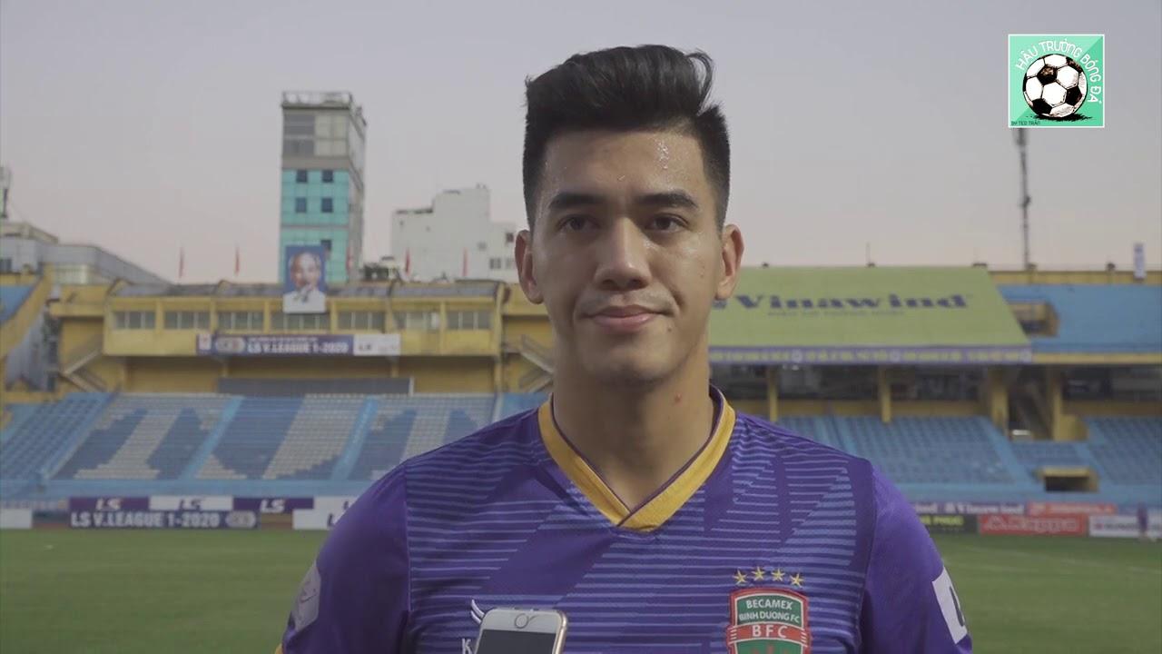 Full trả lời phỏng vấn Tiến Linh trước cuộc đối đầu với Quảng Hải, Hùng Dũng và cầu thủ Hà Nội FC