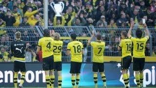 Stimmung Südtribüne: Borussia Dortmund - FSV Mainz 05 2:0   20. April 2013 BVB HD Atmosphere