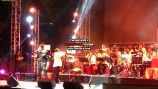 Sonu Nigam Live in Dubai, March 21, 2014 with more than 50 Bollywood musicians