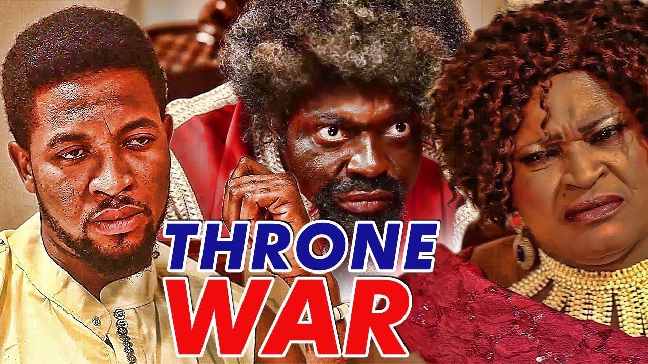 Download THRONE WAR - LATEST 2017 NIGERIAN NOLLYWOOD MOVIES