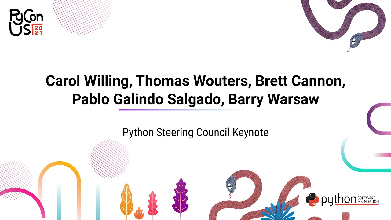 Image from Keynote: Python Steering Council