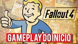 Fallout 4 - Gameplay do Início (XBOX ONE Gameplay PT-BR Português)