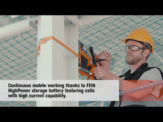 FEIN AKBU: HighPower storage battery with high current capability. [AKBU 35]