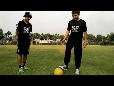 KOZ สอนสตรีทฟุตบอลฟุตซอล สอนเทคนิค เดาะเข่า Akka  Feat. Kong SF