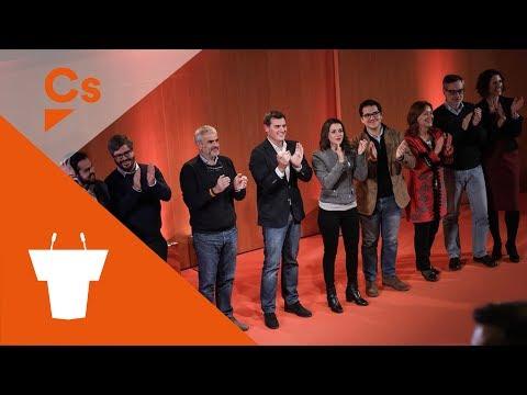 #Granollers Naranja. Albert Rivera e Inés Arrimadas. Acto en Granollers