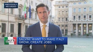 Five Star, Lega propose law professor Giuseppe Conte as new prime minister | Squawk Box Europe