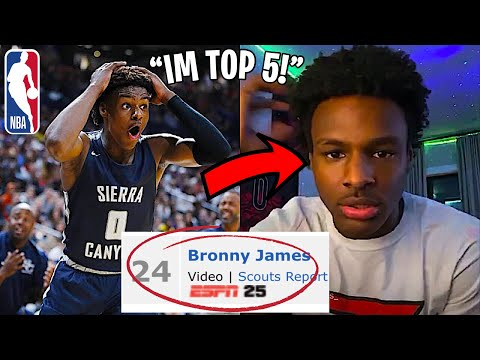 bronny-james-reacts-to-being-cut-from-espn-top-20-list!...-|-bronny-is-mad?