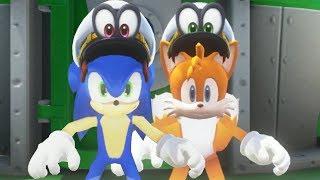Super Mario Odyssey - Sonic & Tails Walkthrough Part 3