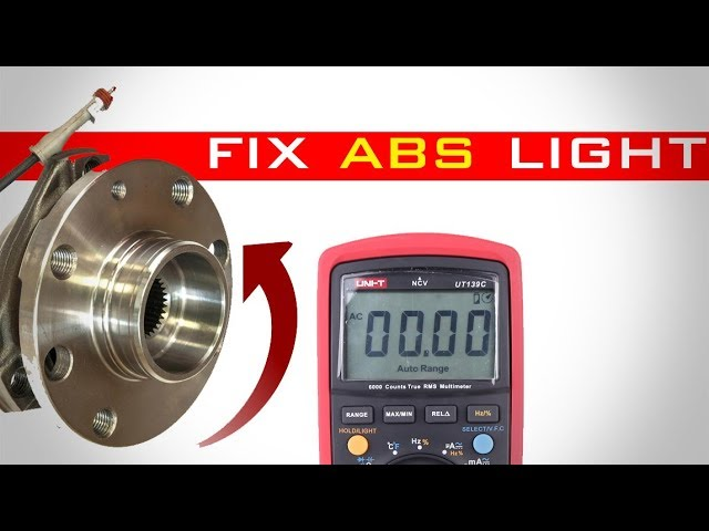 How To Fix Abs Light Without Scan Tool Youtube