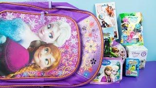Disney Frozen Backpack Mystery Kinder Playtime Surprises Minecraft Shopkins!