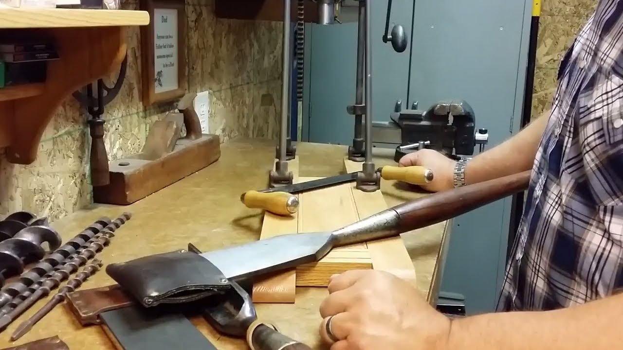 My Timber Framing Tools Youtube