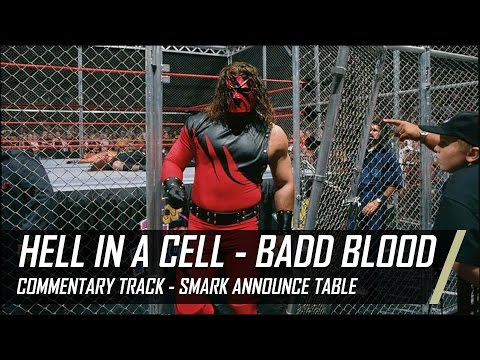 WWE Hell in a Cell Undertaker vs Shawn Michaels from Badd Blood 97 Commentary Track (Smack Talk)