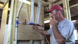 How To Cut & Install Wirsbo Aquapex Pex Water Tubing