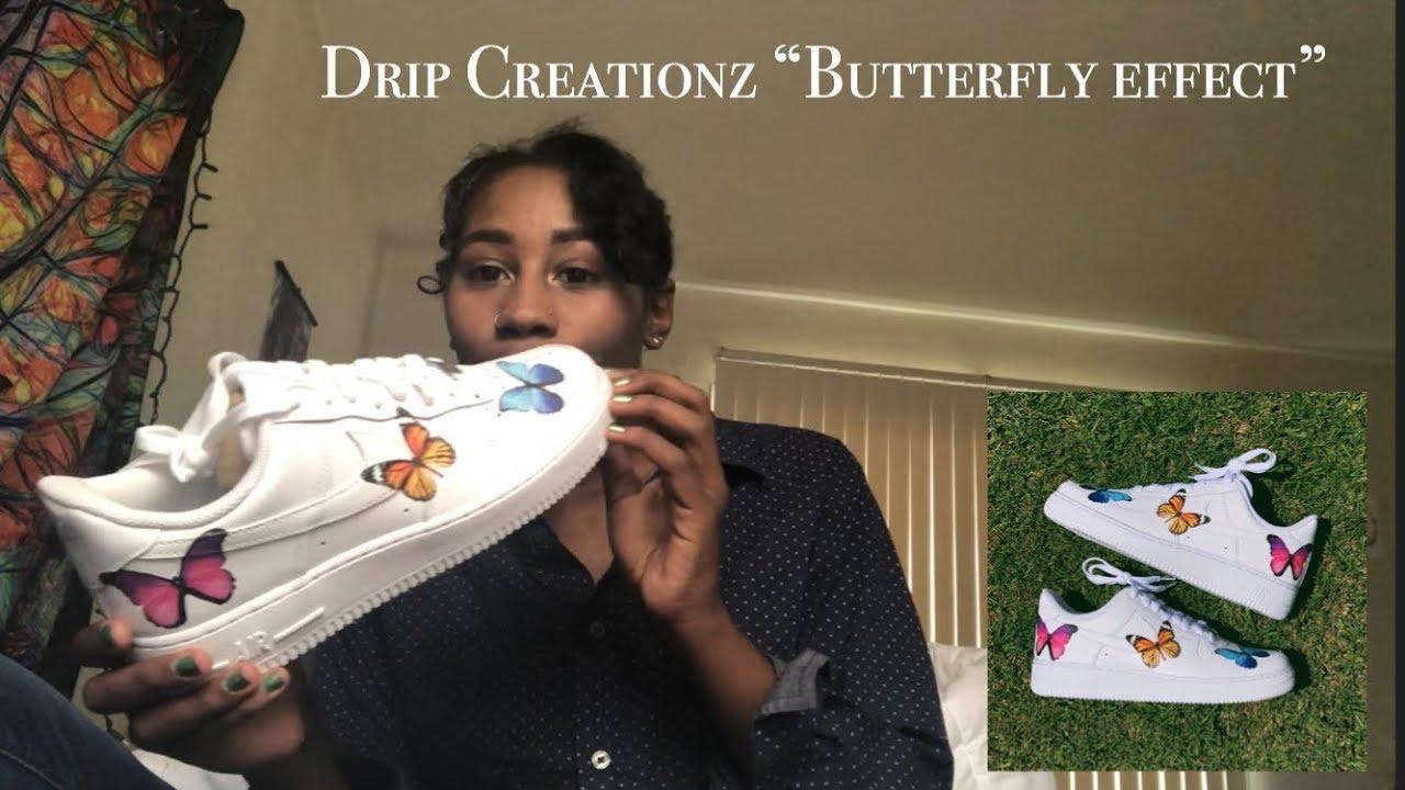 Drip Creationz: Custom Air Force 1's