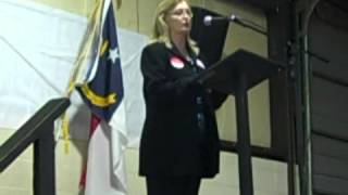 Susan Harris Speaks at the Caldwell GOP Straw Poll & BBQ Dinner 2012