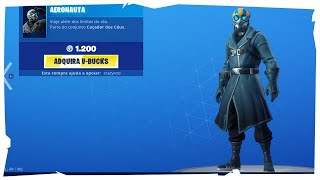 * NEW SKIN * SHOP OF ITEMS FORTNITE-TODAY'S SHOP SEPTEMBER 09,2019 (AERONAUTA)