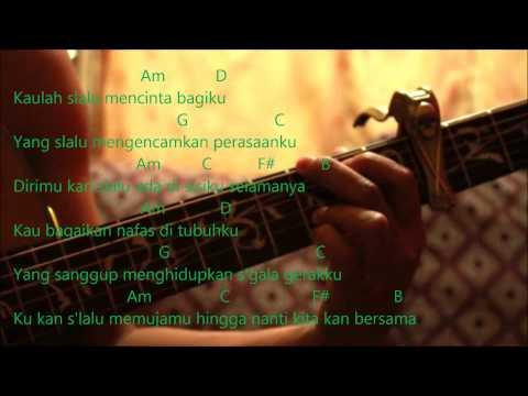 Cakra Khan Ft.  Siti Nurhaliza - Seluruh Cintaku Cover (Kord Gitar)