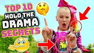🎀 Jojo Siwa HOLD THE DRAMA 🙌 10 Things You MISSED in the MUSIC VIDEO! 💃🏼