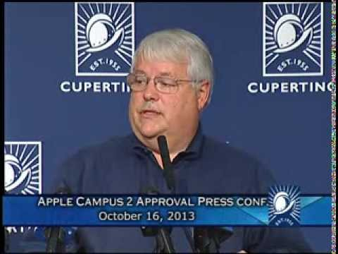 Apple Campus 2 Approval Press Conference, 10/16/2013