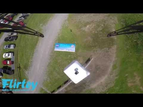 Watch the first FAA-approved delivery drone drop medicine down to rural Virginians
