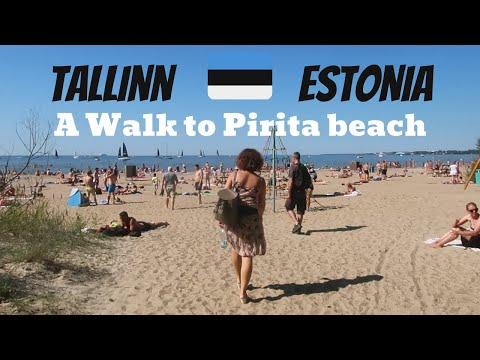 Pirita Beach Tallinn Estonia | Best walk in Tallinn along the Baltic sea