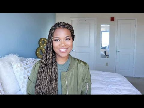 HOW TO WASH BOX BRAIDS Hair Care Routine for Natural Hair in PROTECTIVE STYLES