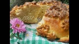 Рецепт сдобного хлеба каравая