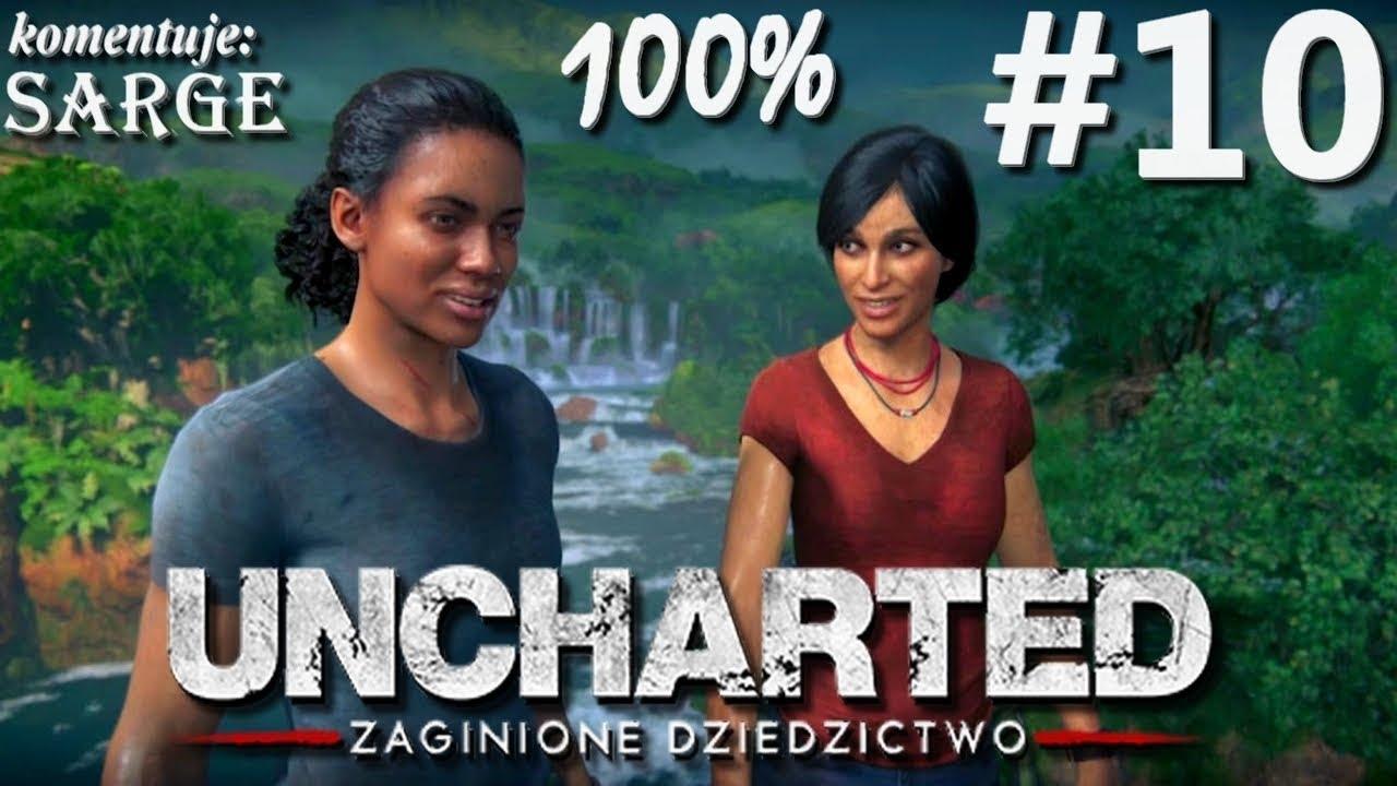 Zagrajmy w Uncharted: Zaginione Dziedzictwo (100%) odc. 10 – Akcja nabiera tempa | 1440p