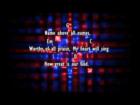 How Great is our God - Chris Tomlin (Lyrics & Chords)