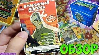 ОБЗОР - КАРТОЧКИ ЧЕРЕПАШКИ НИНДЗЯ: БОЕВАЯ ЧЕТВЁРКА (ПУТЬ НИНДЗЯ) 2010 ГОД