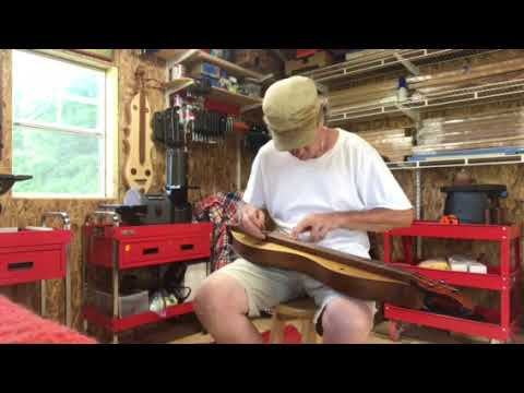 My first N. Carolina Mountain Dulcimer build