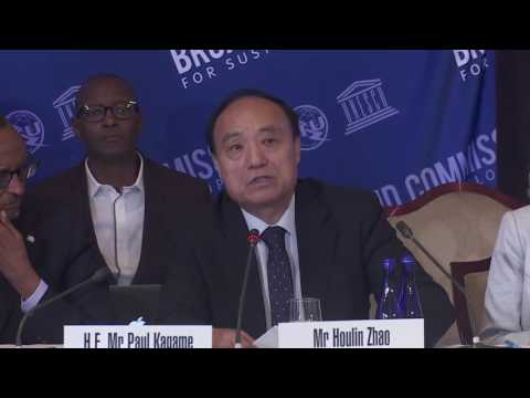 Houlin Zhao, Secretary - General, ITU, Opening Remarks @ 14th Broadband Commission Meeting NYC