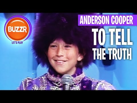 To Tell The Truth - Anderson Cooper BEFORE He Was A STAR! | BUZZR