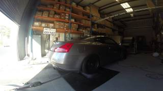 Chris' G37: We ended the session at 328rwhp and 272tq