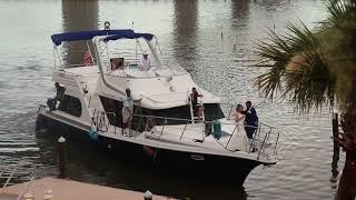 Epic Grand Yacht Entrance with Arabic DJ in Florida in Daytona Beach