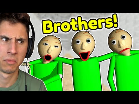 BALDI HAS BROTHERS?!   Baldis Basics