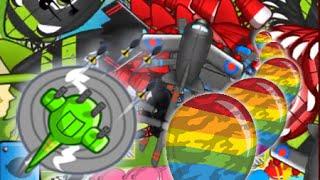 BTD Battles - Some awesome Mega Boosts strategies