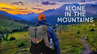 36 Days Solo Thru-Hiking the Rocky Mountains | Full Documentary