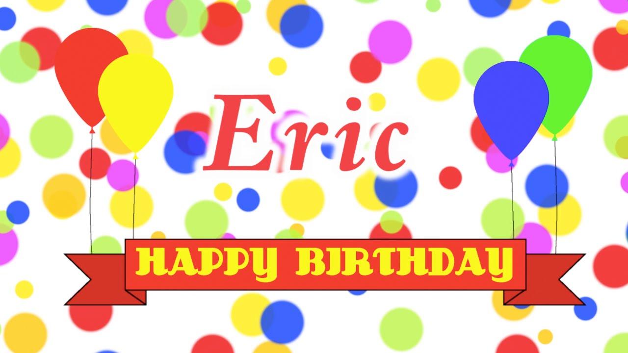 Happy Birthday Eric Song