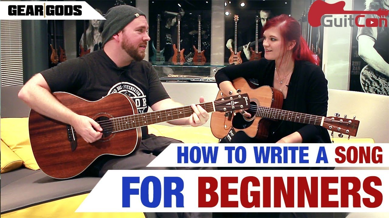 how to write a song for beginners youtube