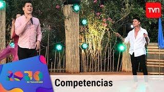 El dúo dinámico de Felipe y Andrei obtuvieron el primer siete de la competencia | Rojo