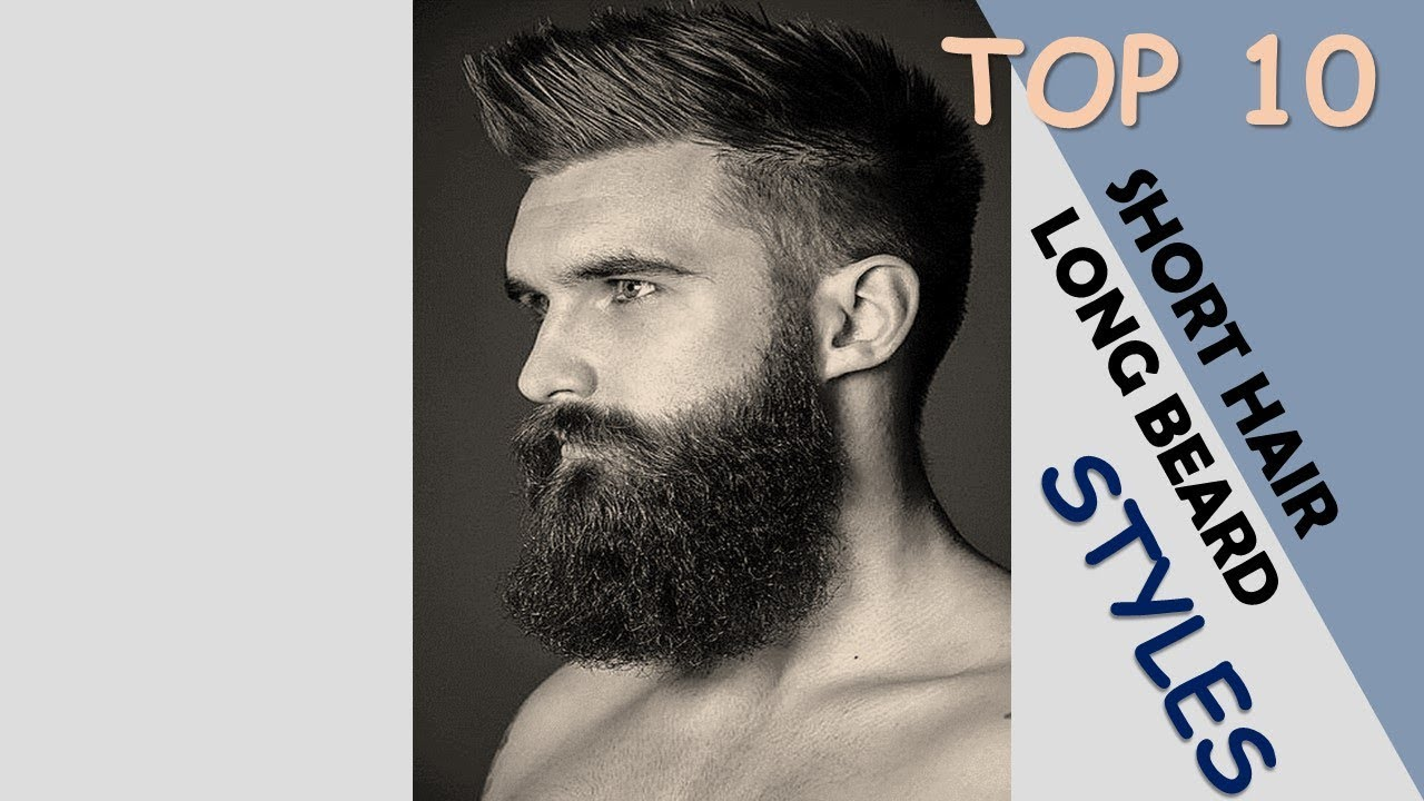 Best Short Hair Long Beard Styles Youtube