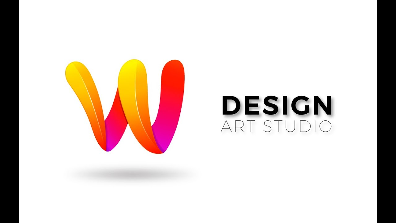 Abode Illustrator cc 2015 | Professional 3D Logo Design ( Letter W ...
