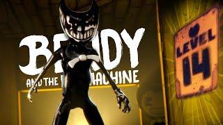 BENDY!!! LEVEI O BENDY ATÉ AO PISO 14! IMPOSSÍVEL?!   Bendy and the Ink Machine (NOVO)