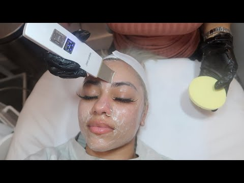 I Got The Best Facial In NYC 😱DermaPlaning & DermaInfusion | Kryssss