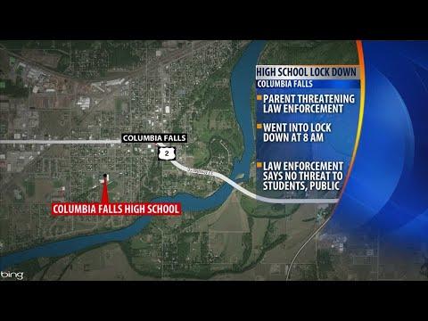 Columbia Falls High School Lockdown