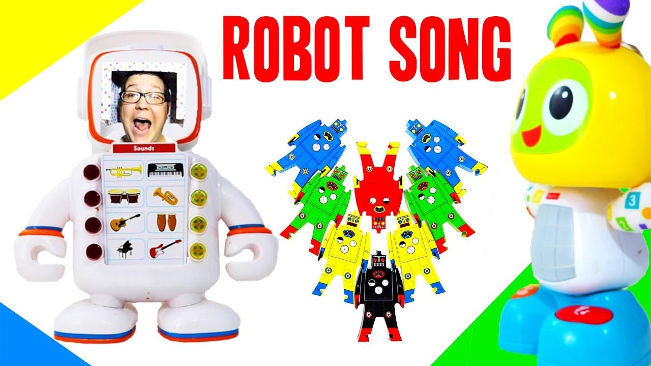 Robot Song For Kids Robot Music For Kids Beatbo Alfie Plex C 3po Dance Party Octoyber Youtube