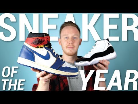 TOP 10 Best Sneakers of 2018: Sneaker of the Year 2018