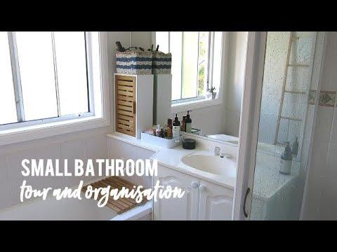 Small Bathroom Organisation | Bathroom Storage Ideas