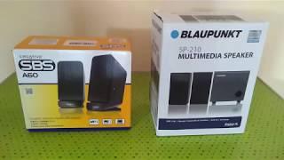 Creative SBS A60 vs Blaupunkt SP 210 speakers detailed comparison